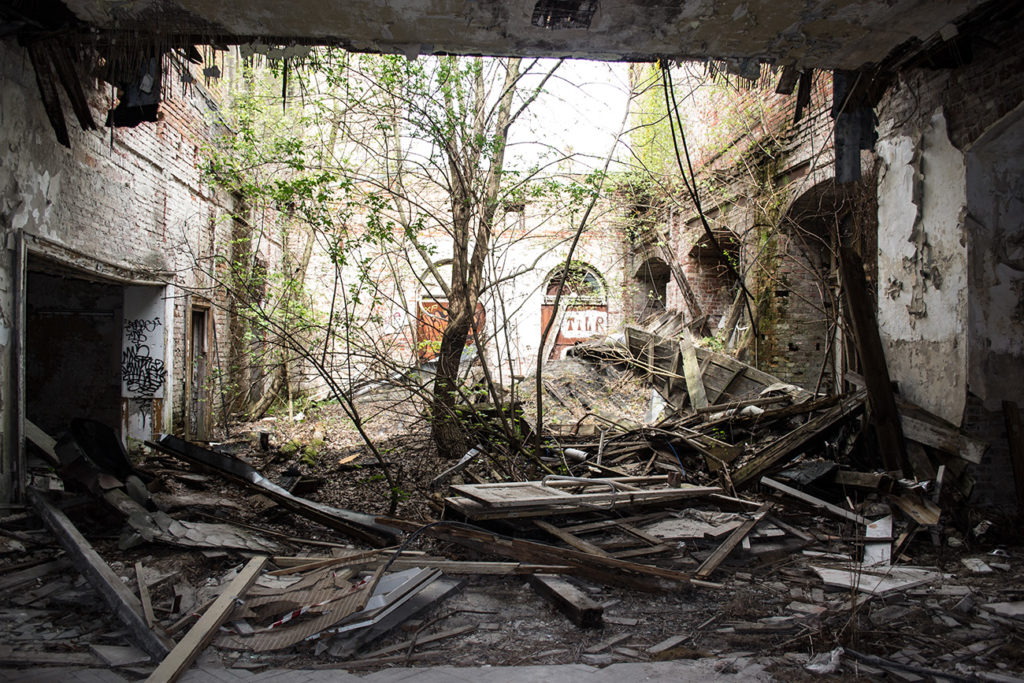 Abandoned Places Berlin: Ballhaus Riviera