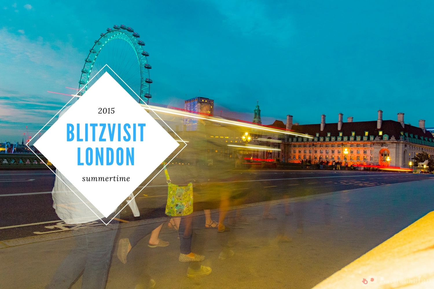Blitzvisit London – Summertime with Big Ben & Oxford Street