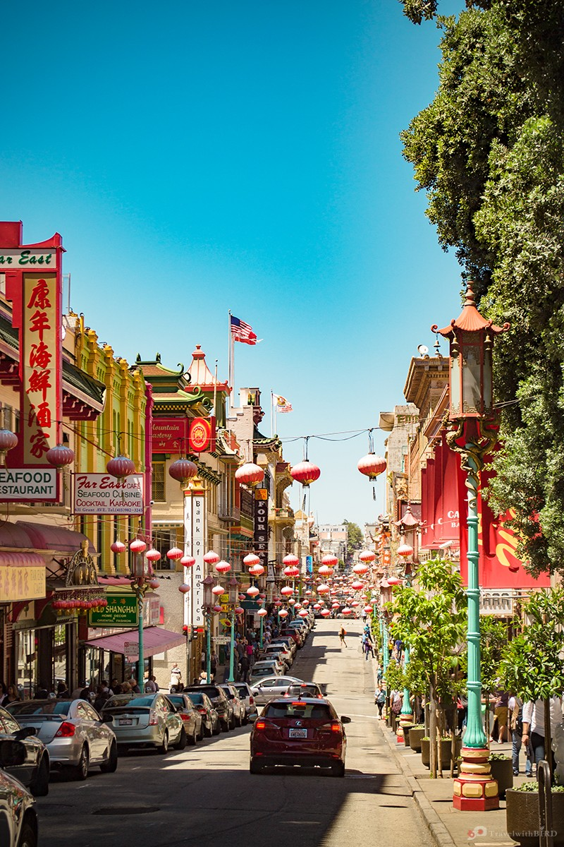 Chinatown of San Francisco