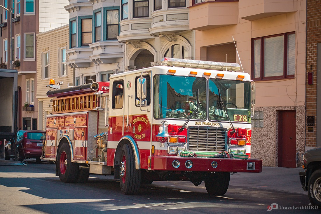 Fire department of San Francisco