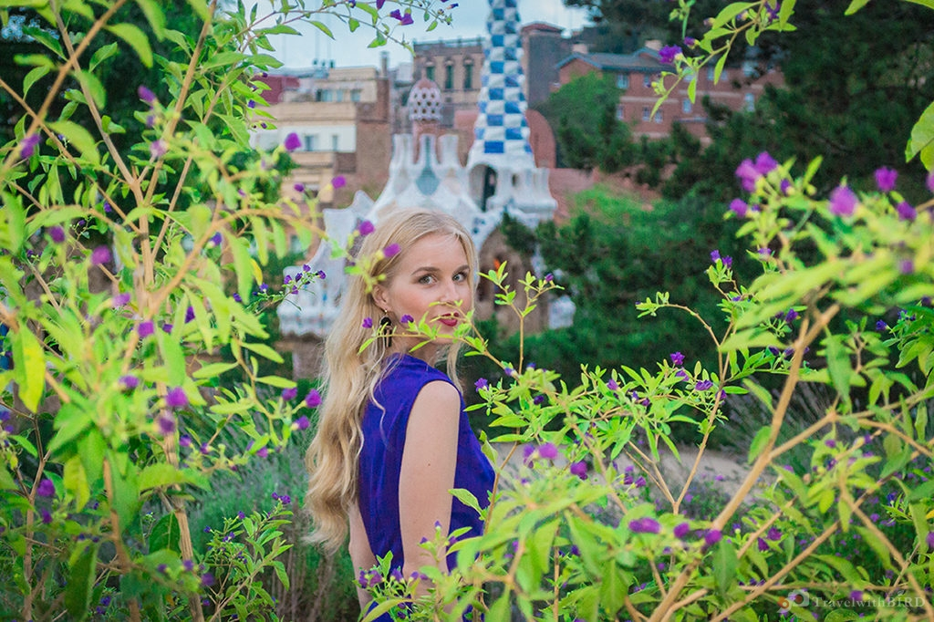 Color match in Parc Güell