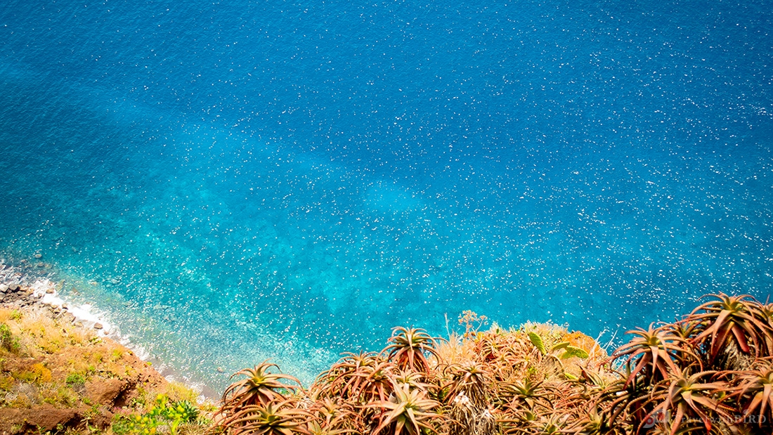 Crystal clear water of Madeira