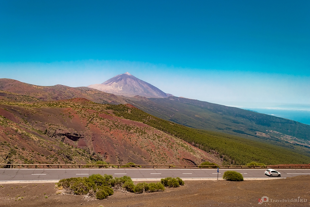 Great panorama view with Pico El Teide