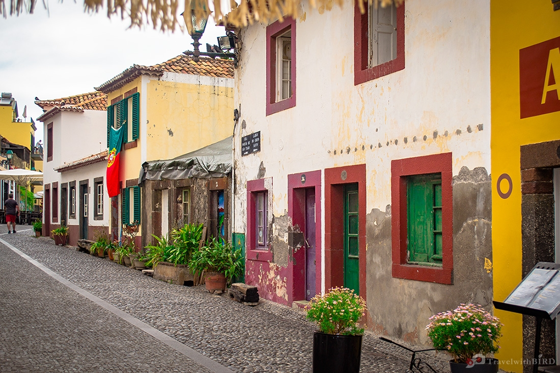 Streets in Oldtown of Funchal