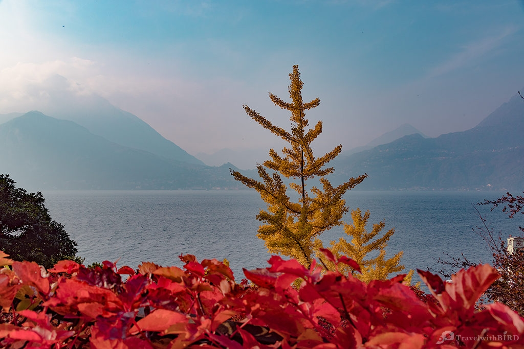 Autumn time at Lago di Como