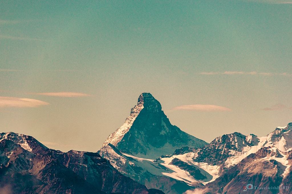 Close up of the Matterhorn