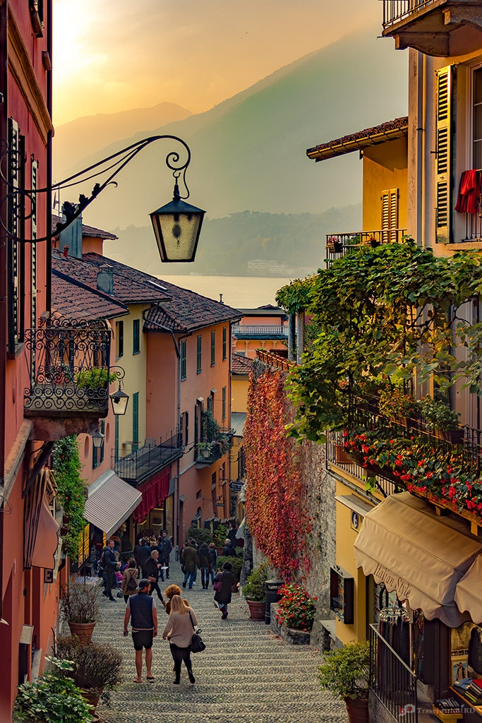 Lake Como Vacation: Streets of Bellagio