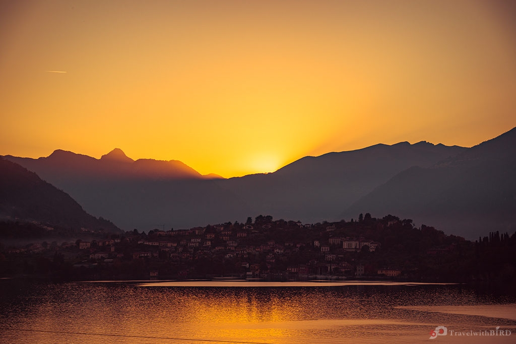 Sunset in Varenna