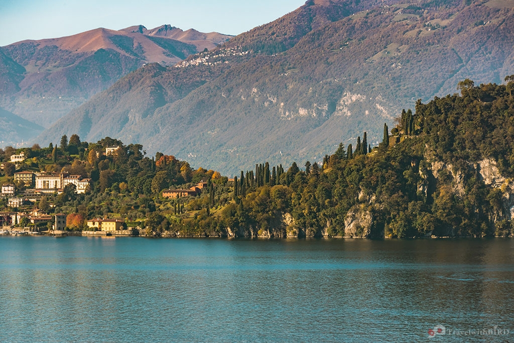 The beauty of Lake Como