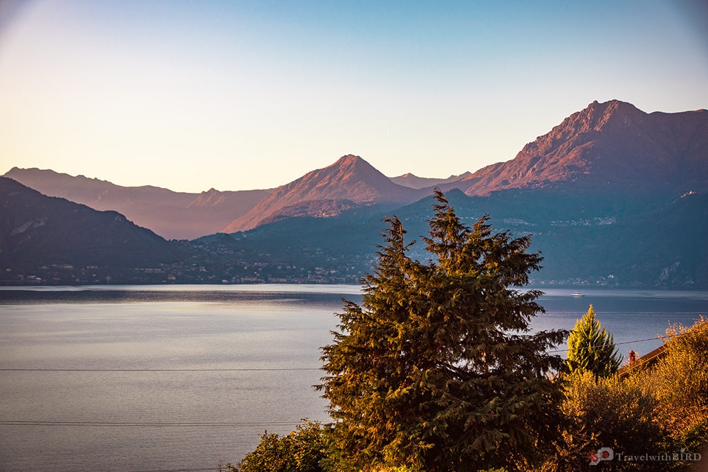 View to Lago di Como from Varenna