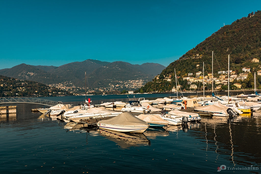 Yacht harbour of Como
