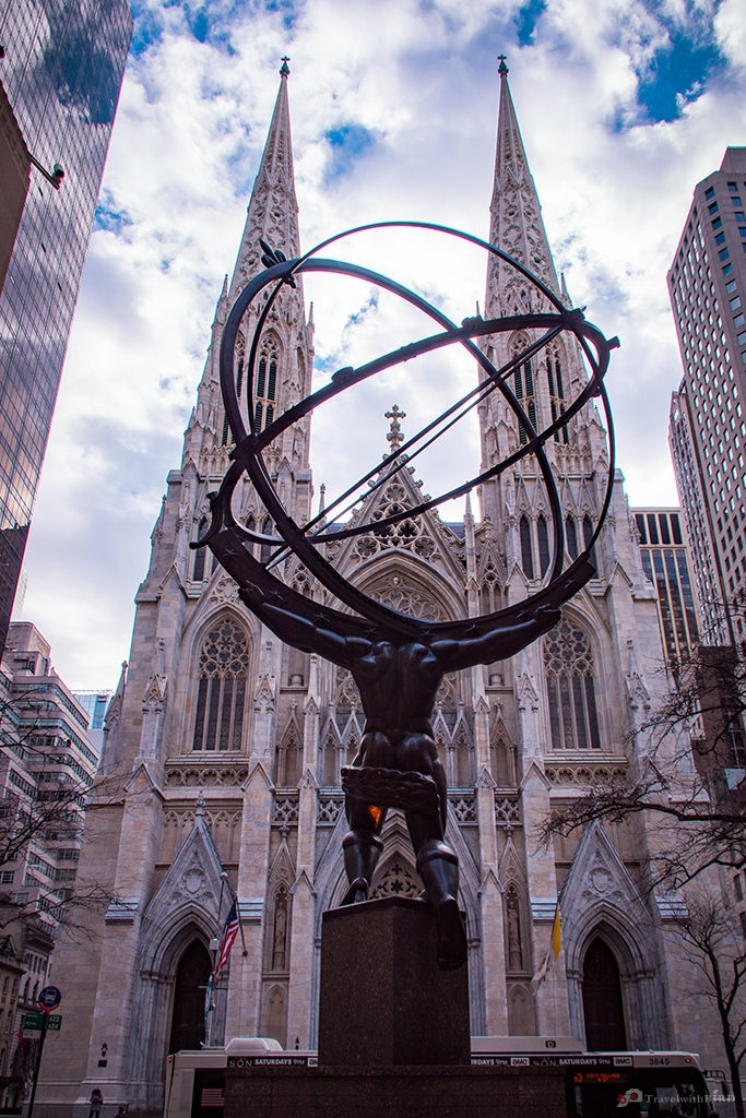 Atlas Sculpture at Rockefeller Center