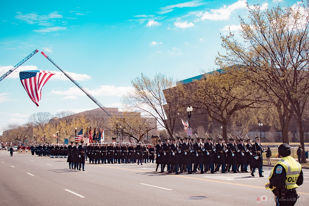March of Policemen