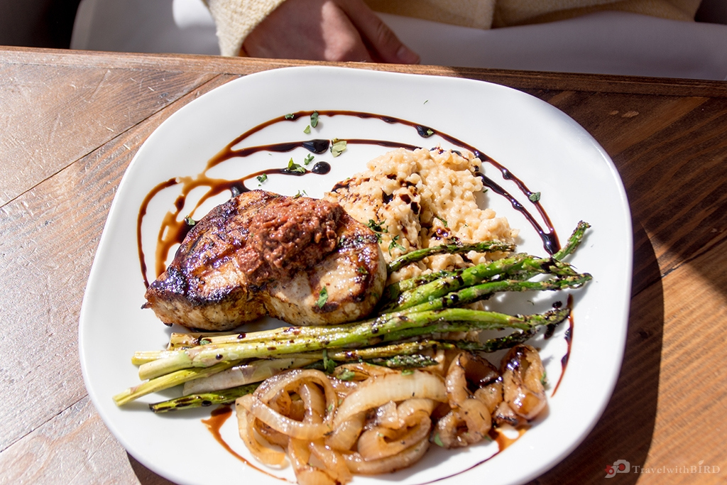 Delicious Fish at Blue Water Grill