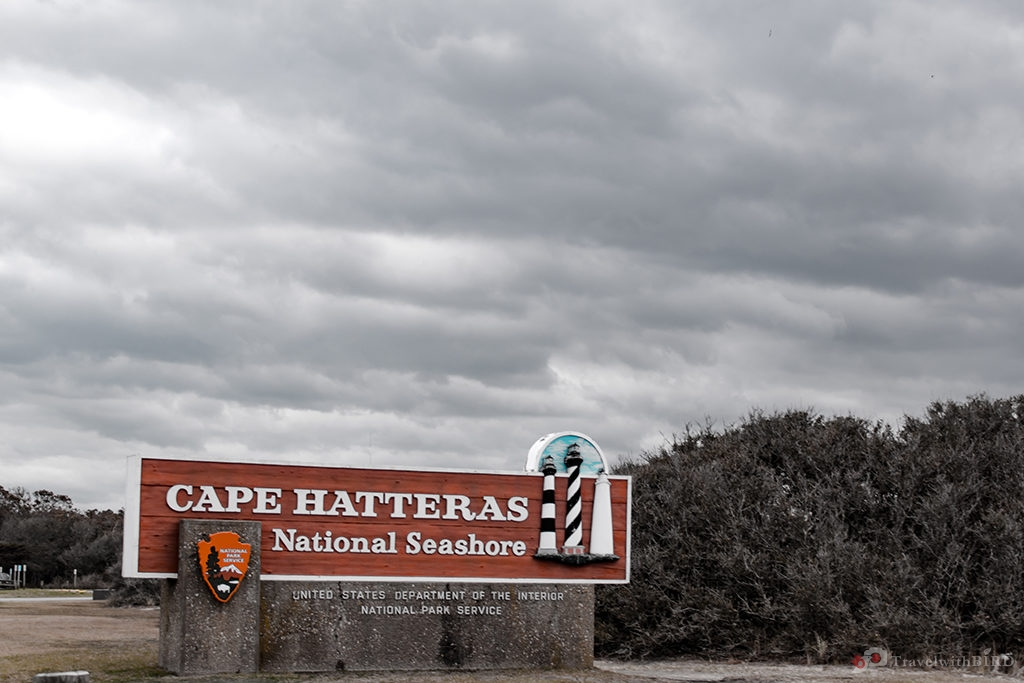 Sign of Cape Hatteras