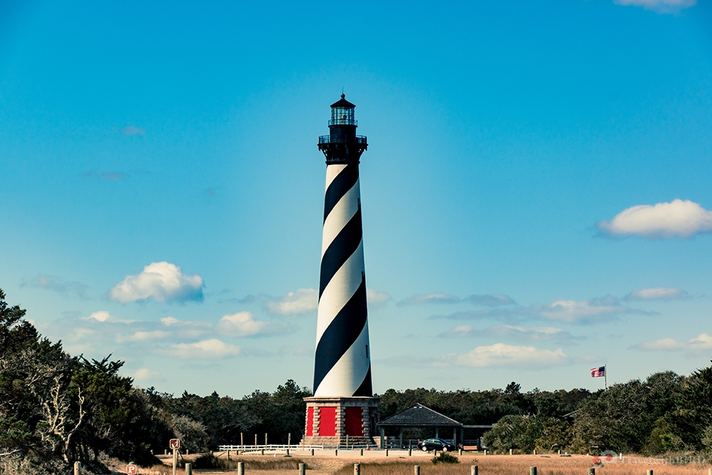 The beautiful lighthouse of Hatteras