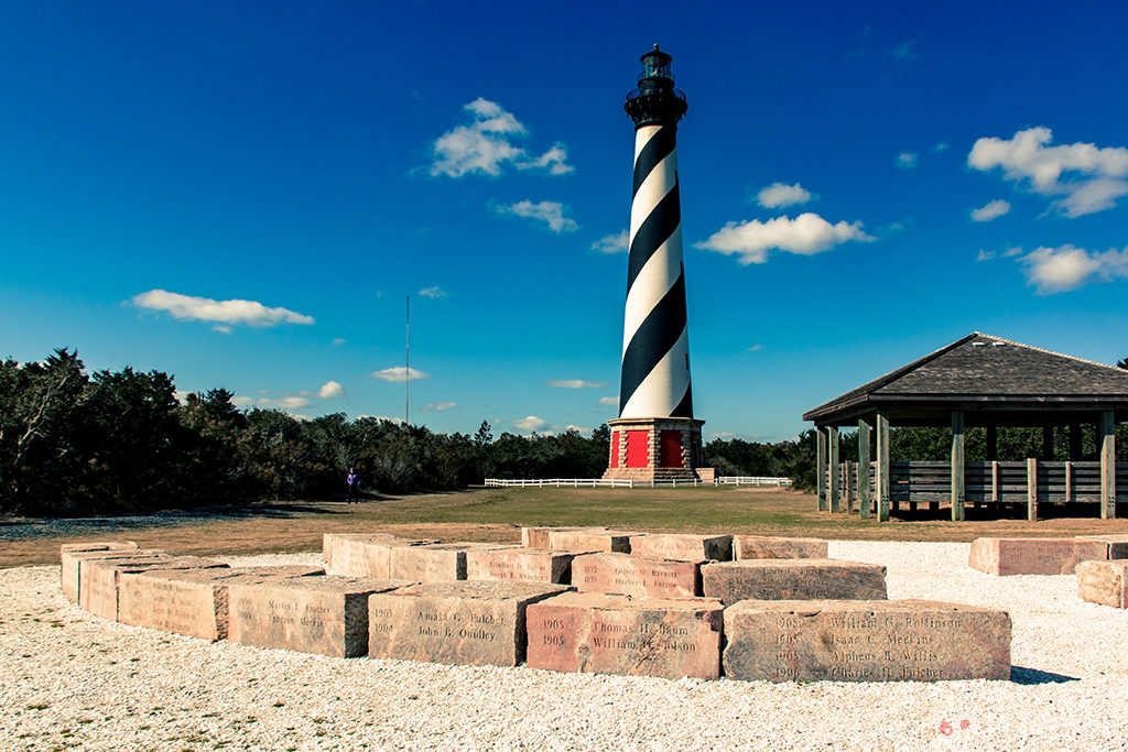 The lighthouse of Hatteras