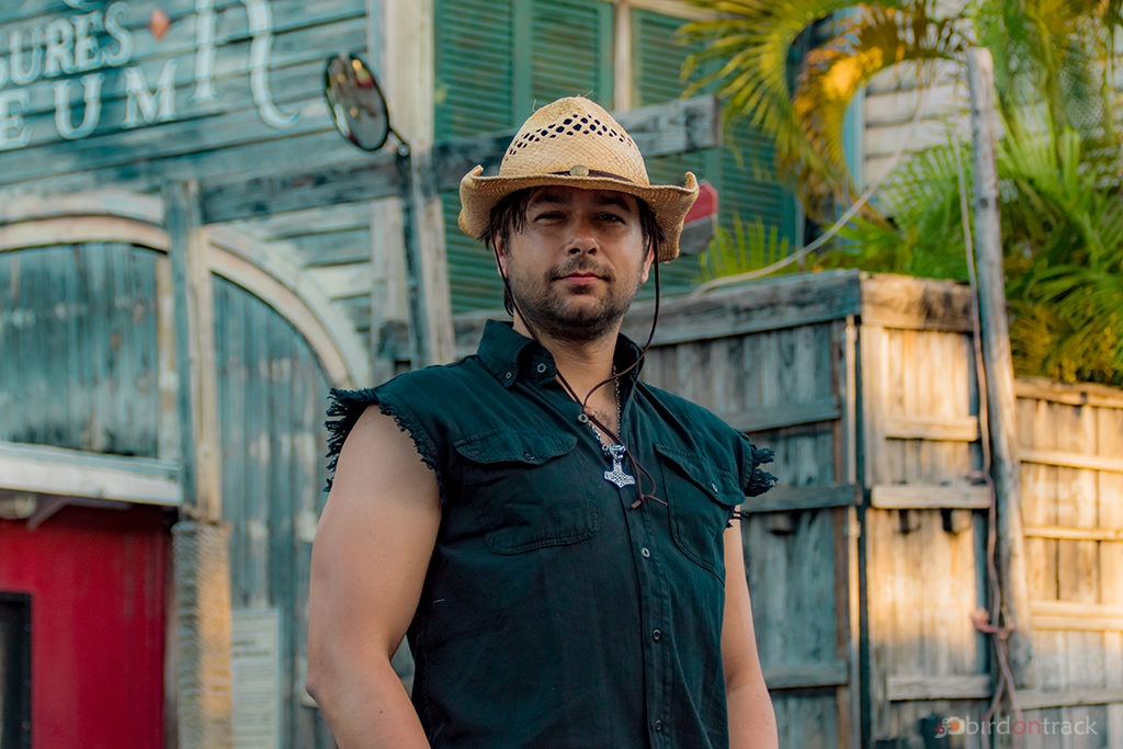 A cowboy in Key West