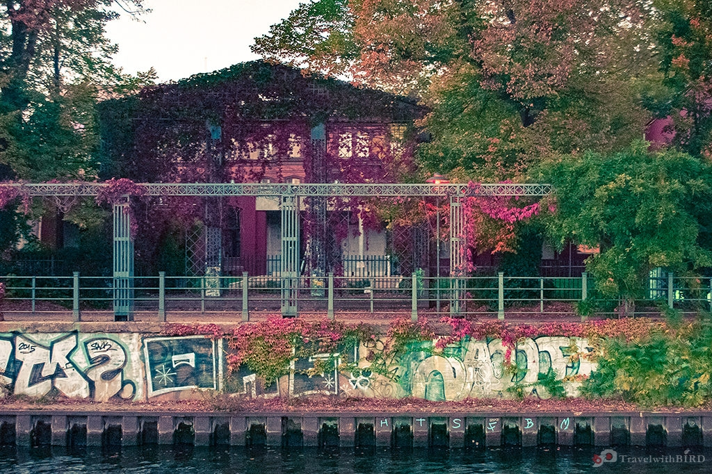 Autumn time at Spree Berlin