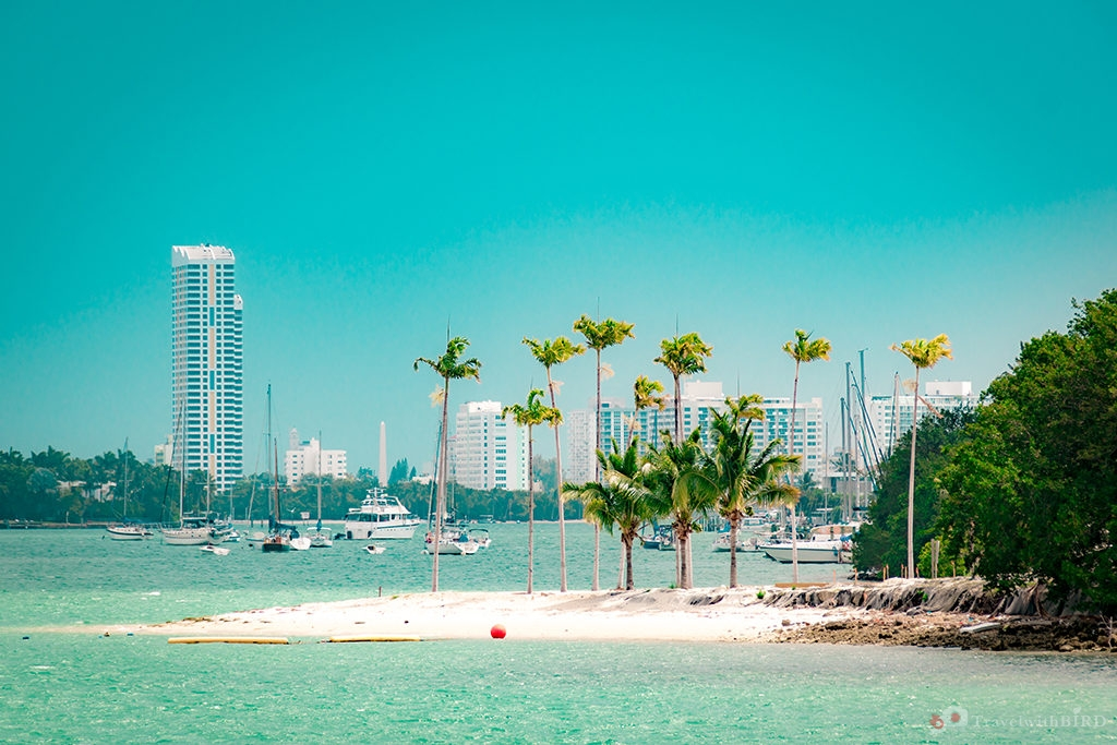 Beautiful seaside of Miami
