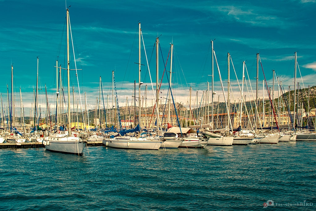 Boats in Toulon