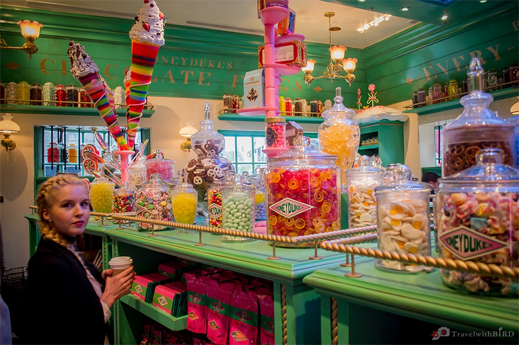 The Candy Store in Hogsmeade