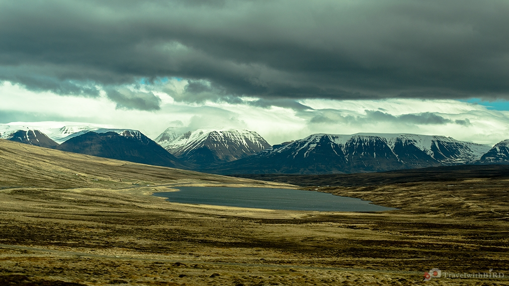 Clouds and Mountains in Iceland