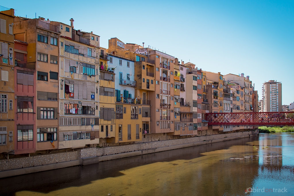 Colorful Houses Girona