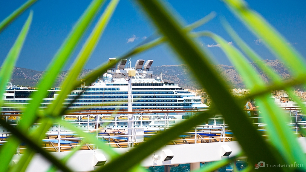 Cruise ships in the Port of Palma