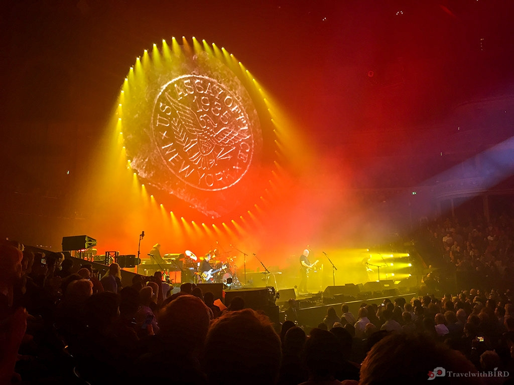 David Gilmour live in the Royal Albert Hall