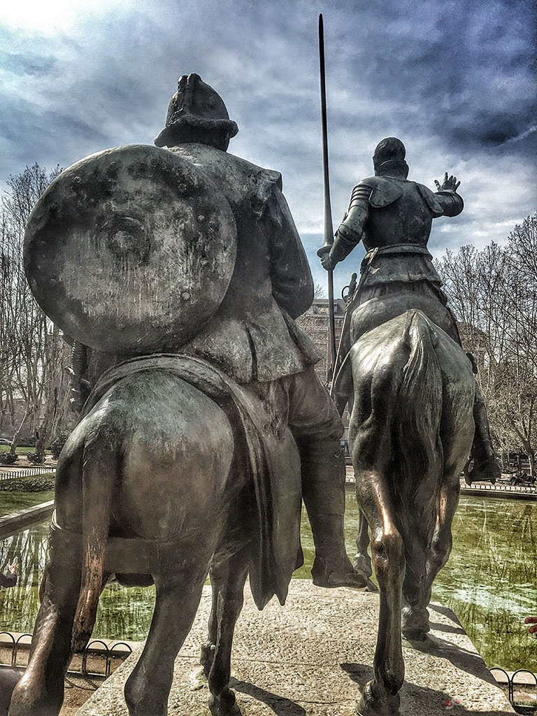 Don Quijote and Sancho Pansa