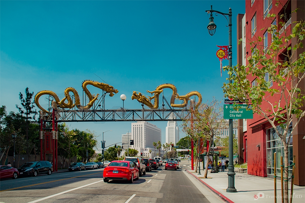 Entrance of Chinatown L.A.