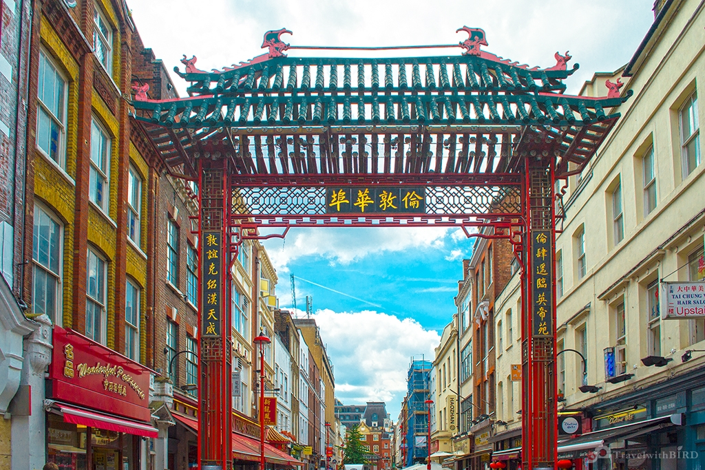 Entrance to Chinatown of London