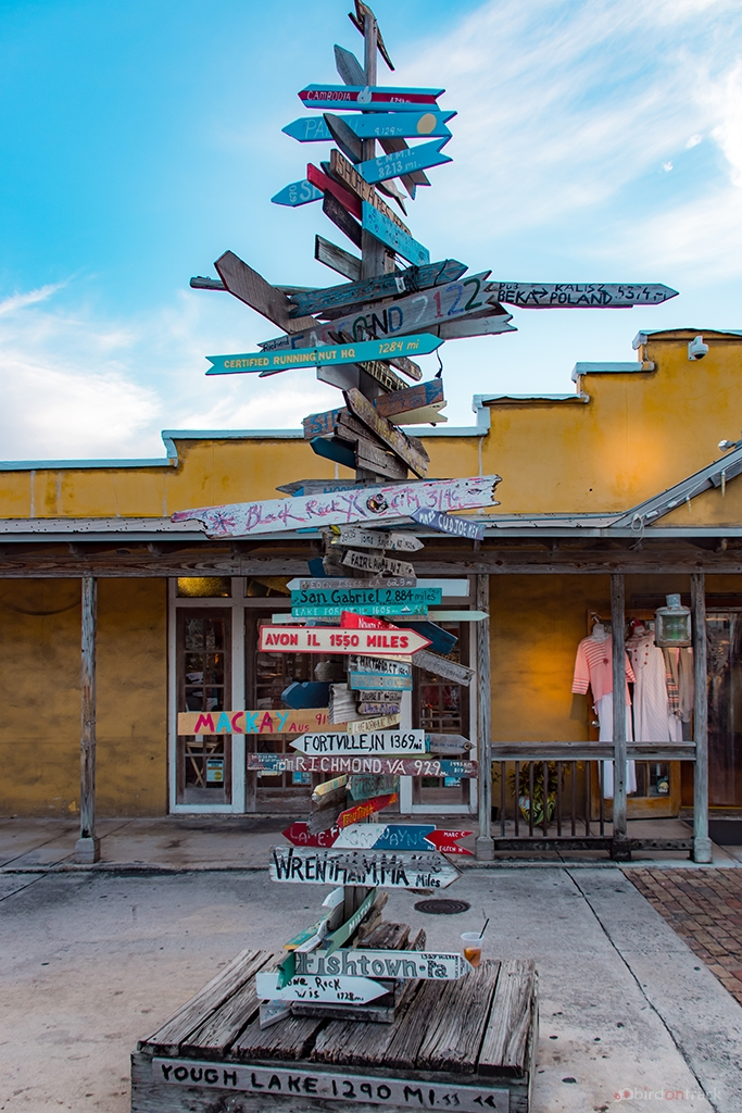 Famous Signpost in key West