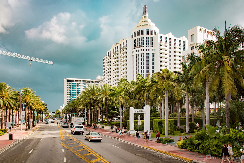 Die Florida State Road in Miami Beach