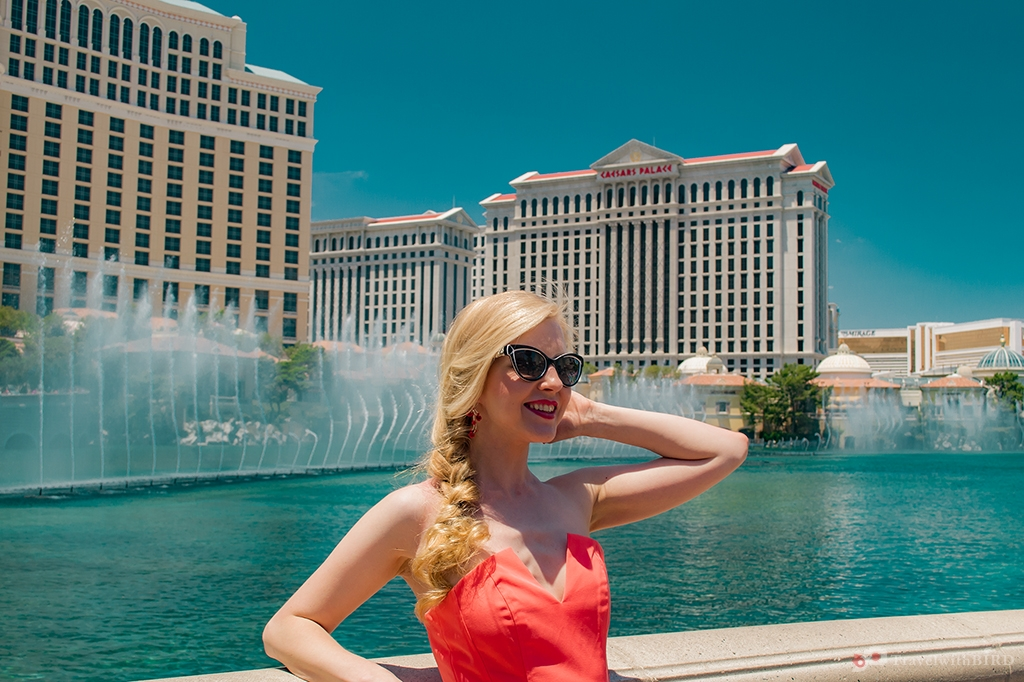 Good times at the fountain Bellagio