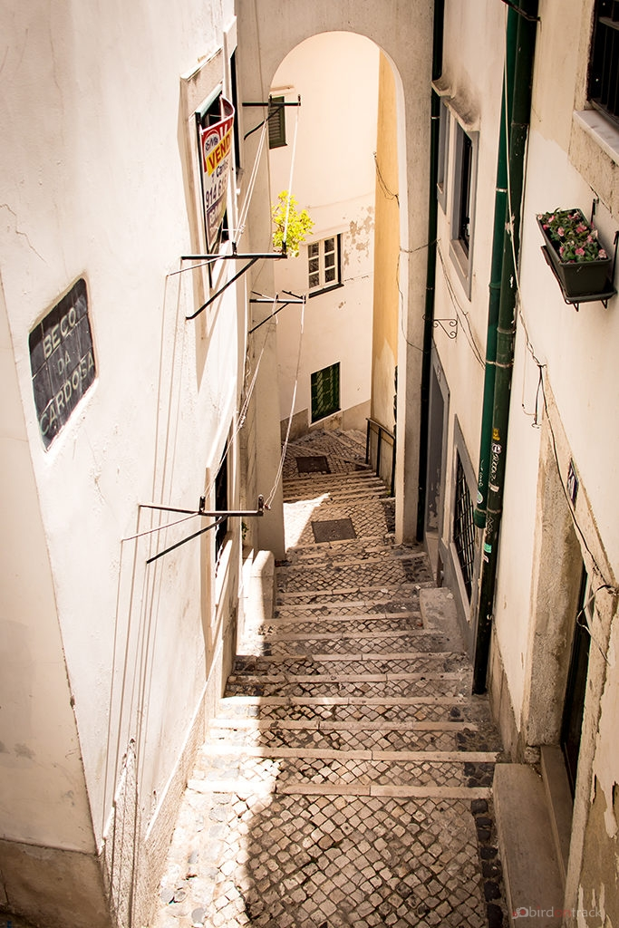 Hidden alleys in Lisbon