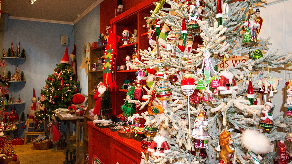 First floor in the House of Santa Claus