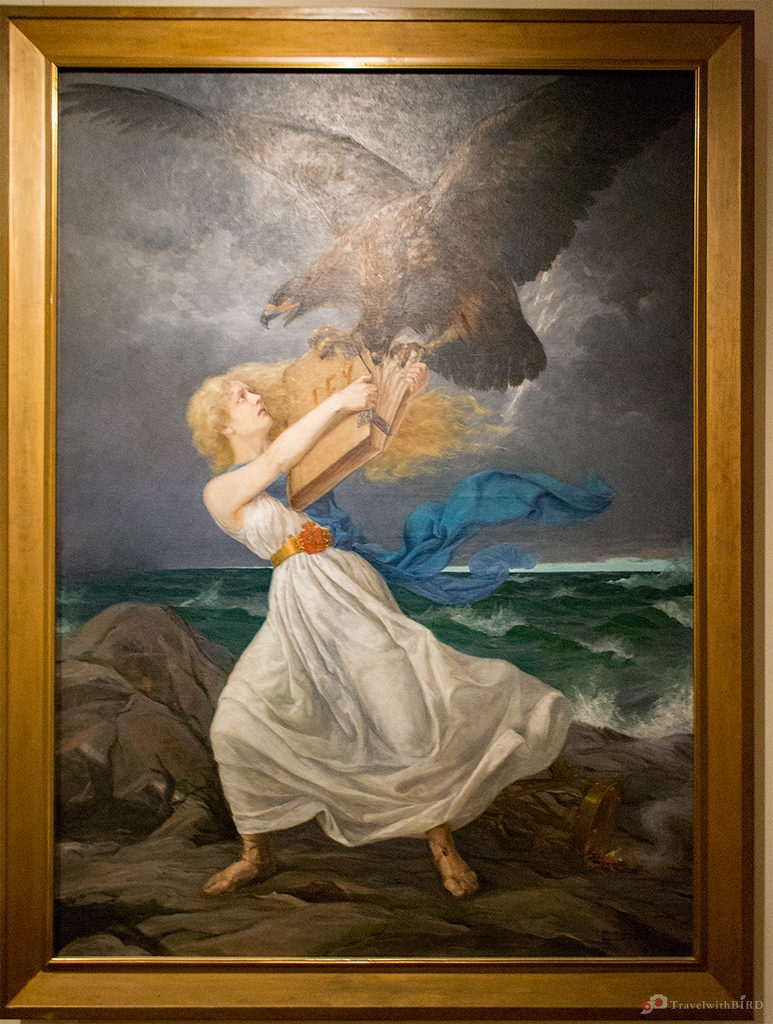 Hyökkäys (The Attack) by Eetu Isto, Oil on canvas. Finnish National Museum