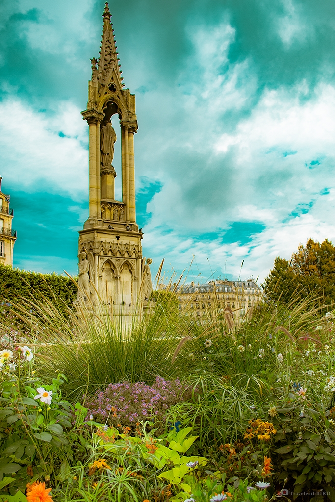 In the Garden of Notre Dame