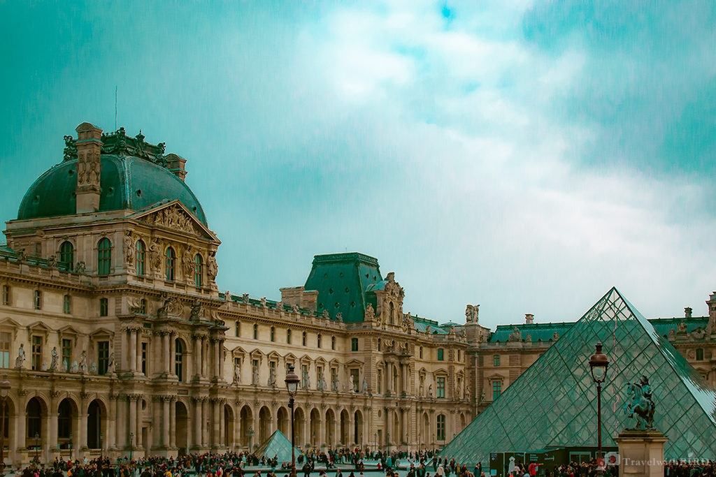 Le Louvre and the Palace