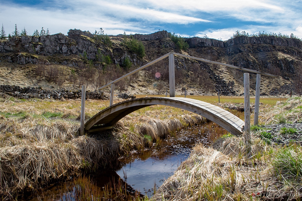 Little bridge in the middle of nowhere