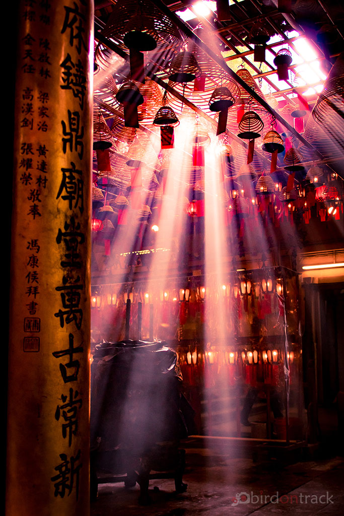 Magical Light in the Temple