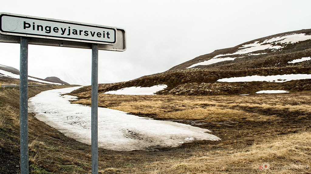 This was the northernmost point of our journey