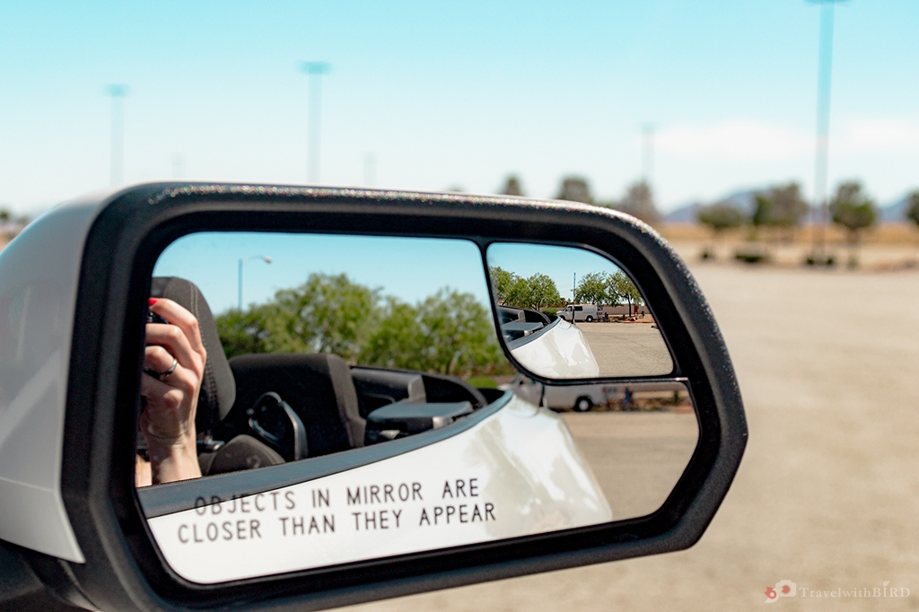 Objects in the Rear view mirror