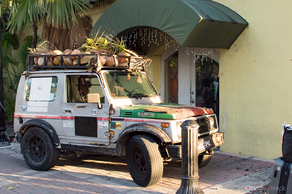 Old Coconut Jeep in Key West