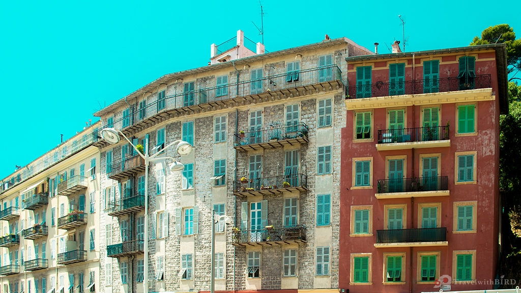 Old Houses in Nice
