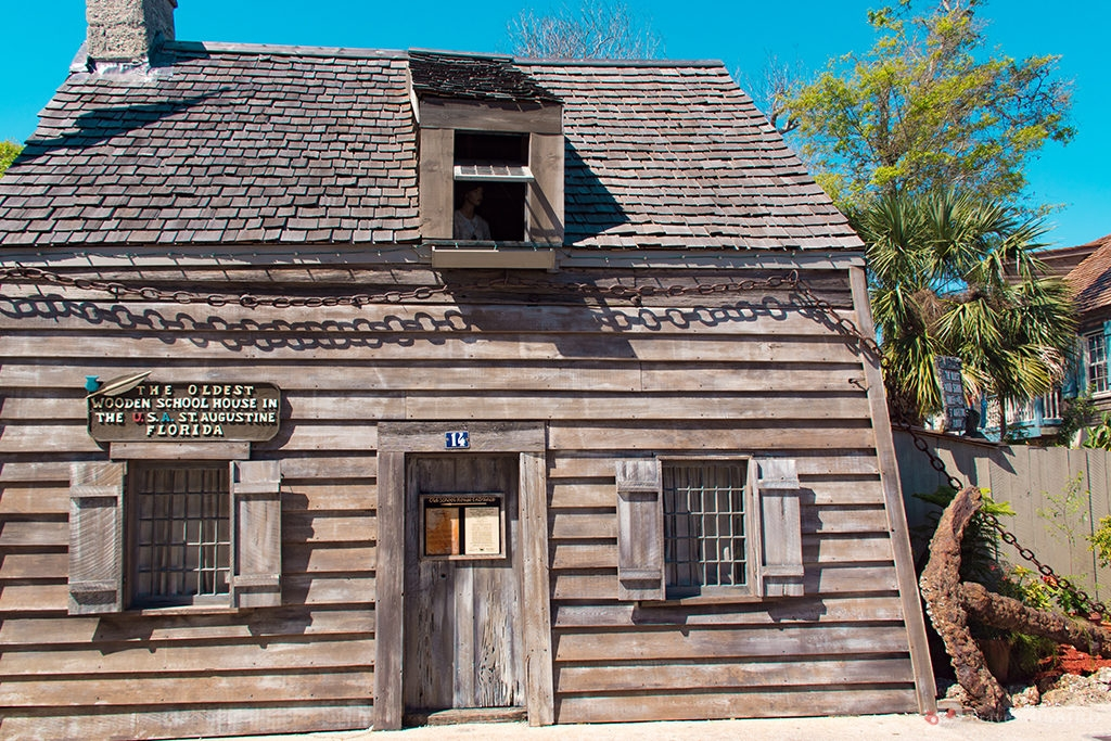 Old Wood House in St. Augustine