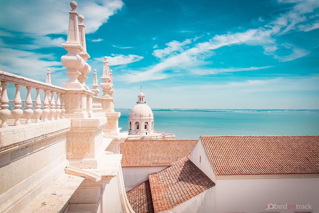 On the roof of Sao Vicente Of Fora