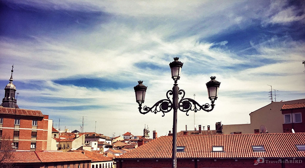 Over the roofs of Madrid